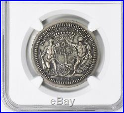 1752 Canada Jeton LeCompte 111 Silver Restrike NGC MS-65