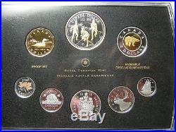 1812-2012 Premium Proof Set 200th Ann War Farewell Penny Canada. 9999 silver