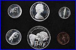 1867-1967 Canada Centennial Gold & Silver Seven Coin Specimen Set