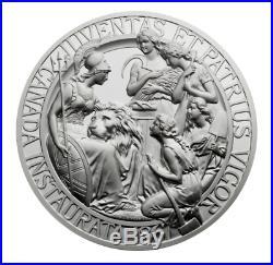 1867-2017 Canada 150 10OZ Pure Silver Confederation Medal Re-strike