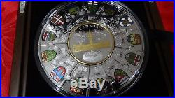 1867-2017 Puzzle Coin Canada150 Confederation $310 1/2-Kilo PureSilver ProofCoin