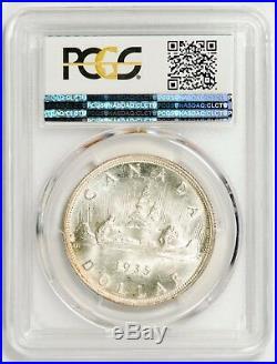 1935 Canada Silver Dollar ($1) PCGS MS65