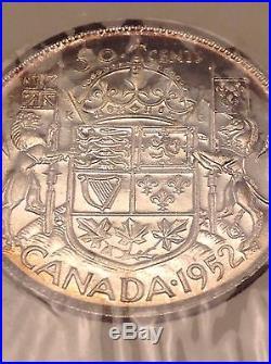 1952 Canada Specimen Set Uncirculated Silver Dollar 3