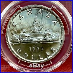 1955 Arnprior Canada 1 Dollar Silver Coin One Dollar PCGS PL-66