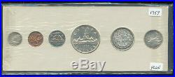 1957 Canada Uncirculated Silver Proof-Like PL Set Sale