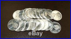 1965 Roll of Canada Silver Dollars 20 Nice Uncirculated Coins