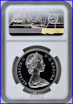 1967 S$1 Canada Silver Dollar NGC SP 68 Cameo Top Pop 1/0