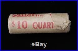 1968 Canada. 25 Cents. Silver. Original Bank Roll. Unopened