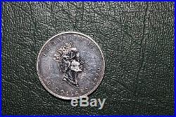 1 Ounce Platinum Canada Maple Leaf 1990 Nice Coin