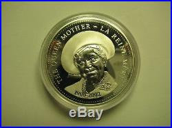 2002 Canada Queen Mother Proof Silver Dollar Mint in Case with COA