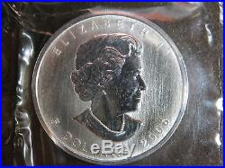 2006 SILVER MAPLE LEAF $5 CANADIAN CANADA COINS 1 oz UNCIRCULATED SEALED