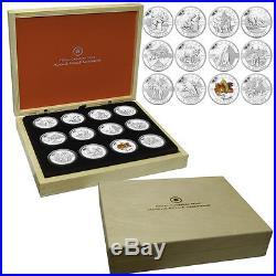 2013 Canada 12-Coin 1/2 oz Silver O