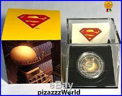2013 Canada $20 75th Anniversary of Superman-Metropolis-Pure Silver Coin RARE