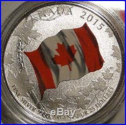2015 $25 Dollar. 9999 Fine Silver
