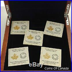 2015 Canada Majestic Animals 5 Coin Silver Proof Set 1oz Coloured #coinsofcanada