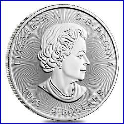 2016 Silver 10 x 1 oz Canada SUPERMAN Brilliant Uncirculated Roll of 10 Coins