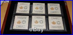 2017 Canada 150 years set 6 Big coins x 5 oz. 99.99% silver Colville designs