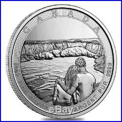 2017 10 oz Silver Canada the Great CTG Niagara Falls $50 Coin