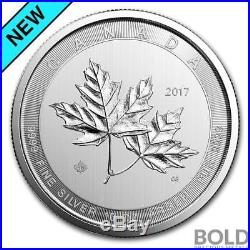 2017 Silver 10 oz Canada Magnificent Maple Leaf