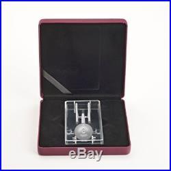 2017 Star Trek U. S. S. Enterprise NCC1701 $100 10OZ Pure Silver Proof Coin Canada