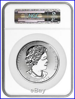 2018 Canada Magnificent Maple Leaves 10 oz Silver $50 Coin NGC MS69 ER SKU53684