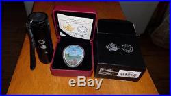 2018 Canada UFO Falcon Lake Incident Glow-in-the-Dark $20 1oz Proof Silver Coin