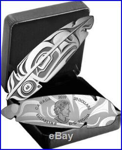 2019 CANADA $20 EAGLE FEATHER 1oz Proof Pure Silver Coin PRE-ORDER