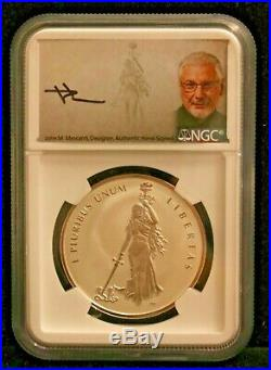 2019 Canada Peace & Liberty 1oz Silver NGC PF70 Rev Proof Ult High Relief #5061