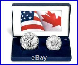 2019 Pride of Two Nations(USA & CANADA) Limited Edition Two-Coin Set PRESALE