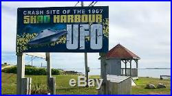 2019 Shag Harbour UFO Incident #2 $20 Glow-in-the-Dark Pure Silver Coin Canada
