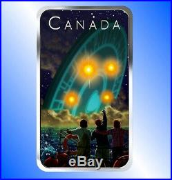 2019 Shag Harbour UFO Incident, Canada's Unexplained Phenomena Silver Coin
