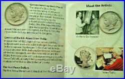 2020 CANADA S$1 PEACE DOLLAR UHR 1 Oz Silver NGC PF70 FDI with Designer Signature