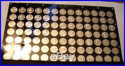 91 piece GRADING SET Silver Dollars of Canada BU to Superb Gem BU P/L 1965 67