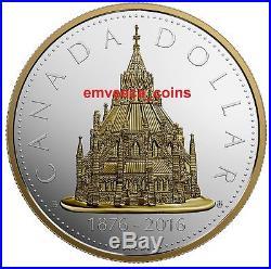 CANADA 2016 Library of Parliament Renewed Silver Dollar 2oz Masters Club Coin