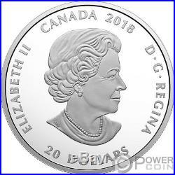 CARIBOU Canadian Mosaics 1 Oz Silver Coin 20$ Canada 2018
