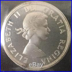 Canada 1964 Silver Dollar ICCS SP 66 Heavy Cameo HC Specimen