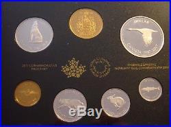 Canada 2017 Proof Set 1967 Centennial Coins 99.99% Fine Silver No Tax