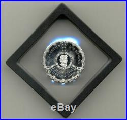 Canada 2018 20$ Star Trek Deep Space Nine 25th Anniversary Proof Silver Coin