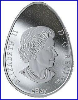 Canada 2019 20$ Vegreville Ukrainian Pysanka Egg Shape 1oz Silver Coin