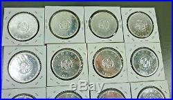 Canada Roll (20 Coins) Superb Gem Bu 1964 Silver Dollars