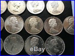 Canada Silver Dollars $1 0.6 oz 20 Mixed dates AU/BU/ PL CD20