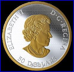 Christmas Train (2020) Interactive 5oz Silver Coin /w Gold, CANADA, PREORDER