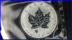 F12 f15 Privy Mark 2007 Canada Silver Maple Leaf 1 oz. 9999 Silver Fabulous 12