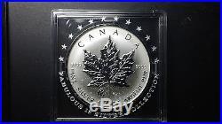 F12 f15 Privy Mark 2008 Canada Silver Maple Leaf 1 oz. 9999 Fabulous 12