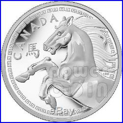 HORSE Lunar Year 1 Kg Kilo Kilogram Silver Proof Coin 250$ Canada 2014
