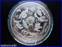 NEW HOT ITEM $200.999 Fine Silver Coin 2016 Vast Prairies CANADA Bullion