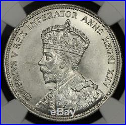 Ngc Ms64 1935 Canada Silver Dollar $1 (en06)