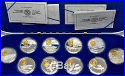 Pioneers of Powered Flight in Canada -vintage coins