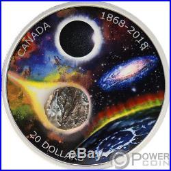 ROYAL ASTRONOMICAL SOCIETY 150th Anniversary 1 Oz Silver Coin 20$ Canada 2018