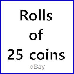 Roll of Canadian Silver Maple Leafs (Total of 25) coins Random Date